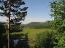 Вид со старого тракта на долину Блудной за Хилогосоном