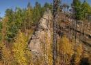 Скалы и виды урочища Чёрное