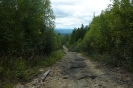 Спуск на юг от урочища Чёрное. Фото И. Петрова